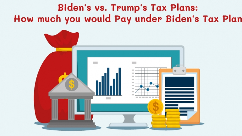 Biden's vs. Trump's Tax Plans: How much you would Pay under Biden's Tax Plan
